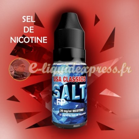 E-liquide Salt - Sel de nicotine - 50/50 USA Classics 10 ml - Flavour Power