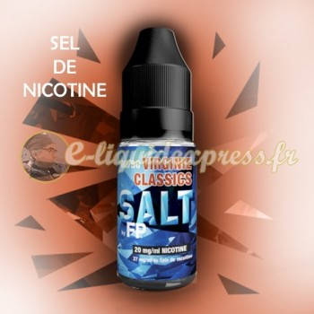 E-liquide Salt - Sel de nicotine - 50/50 Virginie 10 ml - Flavour Power