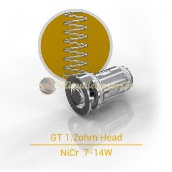 Résistances Eleaf GT 1.2 Ohm pour clearomiseur kit iJust Mini Pen - Boite de 5 unités
