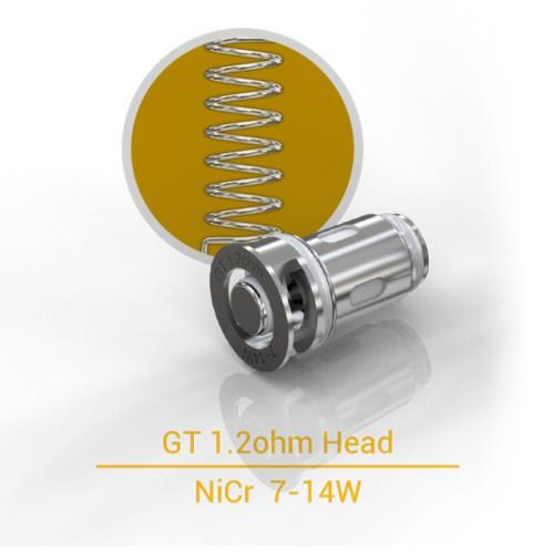 Résistance Eleaf GT 1.2 Ohm pour clearomiseur kit iJust Mini Pen