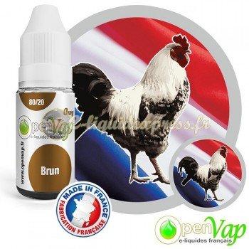 E-liquide Openvap saveur Brun 10 ml