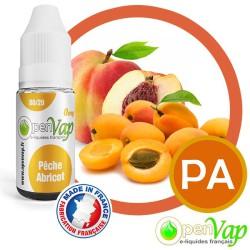 E-liquide Openvap saveur Pêche Abricot PA 10 ml