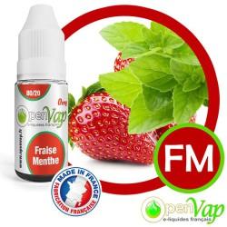 E-liquide Openvap saveur Fraise Menthe FM 10 ml