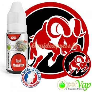 E-liquide Openvap Drink Red Monster 10 ml
