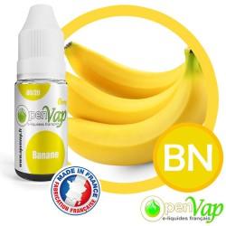 E-liquide Openvap saveur Banane BN 10 ml