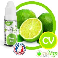 E-liquide Openvap saveur Citron Vert CV 10 ml