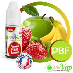 E-liquide Openvap saveur Pomme - Banane - Fraise PBF 10 ml