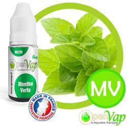 E-liquide Openvap saveur Menthe verte MV 10 ml