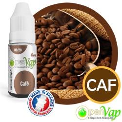 E-liquide Openvap goût Café CAF 10 ml