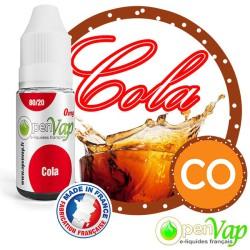 E-liquide Openvap saveur Cola CO 10 ml