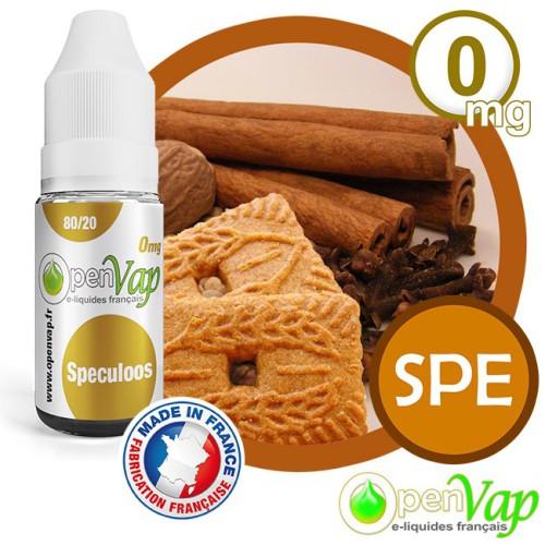 E-liquide Openvap saveur Speculoos SPE 10 ml en 0 mg