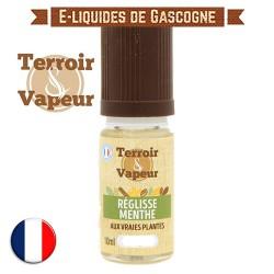 E-liquide Réglisse Menthe - Terroir et Vapeur - 10 ml