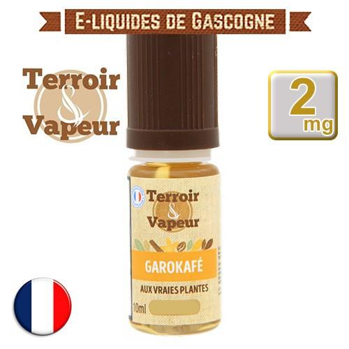 E-liquide Garokafé - Terroir et Vapeur - 10 ml en 2 mg