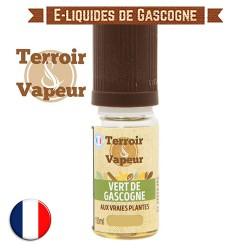 E-liquide Vert de Gascogne Classique - Terroir et Vapeur - 10 ml