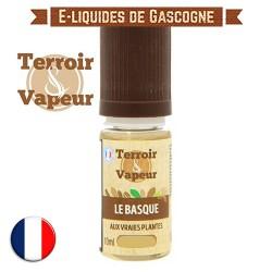 E-liquide Brun Le Basque - Terroir et Vapeur - 10 ml