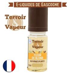 E-liquide Fleur de Blond Classique - Terroir et Vapeur - 10 ml