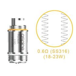Résistances Aspire PockeX U-Tech AIO 0.6 Ohm - Boite de 5 unités