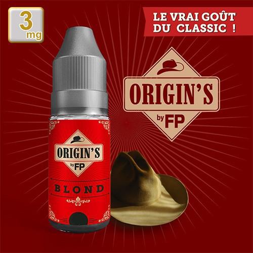 E-liquide Origin's by FP 50/50 Blond Classics 10 ml en 3 mg