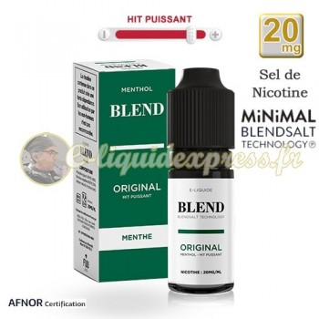 E-liquide BLEND de Fuu Menthol Original - hit puissant - 20mg/ml - 10 ml