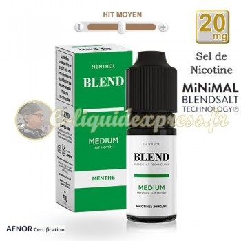 E-liquide BLEND de Fuu Menthol Médium - hit moyen - 20mg/ml - 10 ml