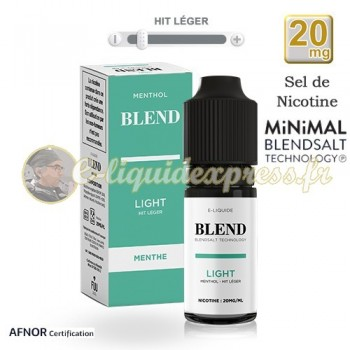 E-liquide BLEND de Fuu Menthol Light - hit léger - 20mg/ml - 10 ml