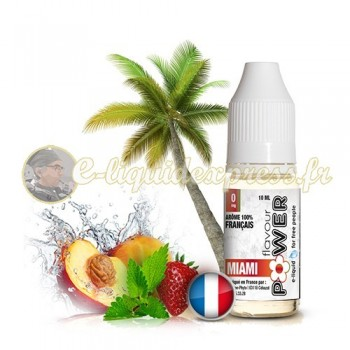 E-liquide Flavour Power 50/50 Miami 10 ml