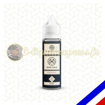 E-liquide Flavor Hit Classique 50/50 Rush Gold à booster - blend blond - 50 ml