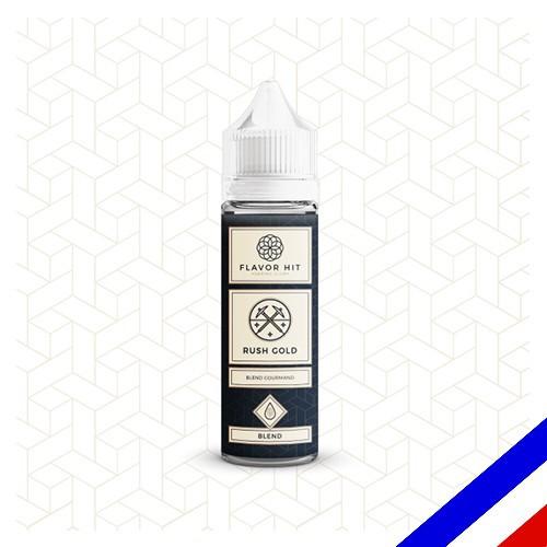 E-liquide Flavor Hit Classique 50/50 Rush Gold à booster - blend blond - 50 ml