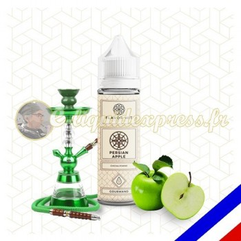 E-liquide Flavor Hit Fruité 50/50 Persian Apple à booster - Pomme/Chicha - 50 ml