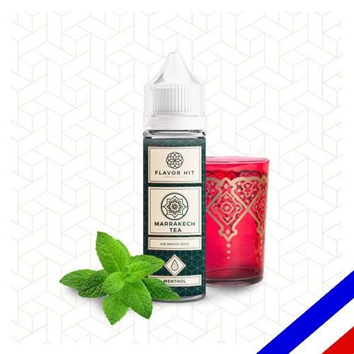 E-liquide Flavor Hit Gourmand 50/50 Marrakech Tea à booster - Thé vert/Menthe - 50 ml