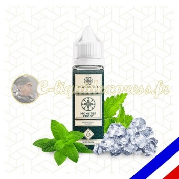 E-liquide Flavor Hit Gourmand 50/50 Monster Frost à booster - Menthe extra forte - 50 ml