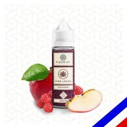 E-liquide Flavor Hit Fruité 50/50 Pink Ladies à booster - Pomme Framboise - 50 ml