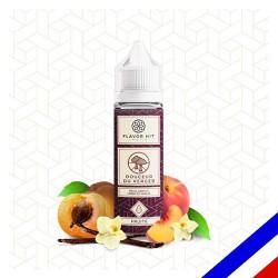 E-liquide Flavor Hit Fruité 50/50 Douceur du Verger à booster - Abricot Vanille - 50 ml