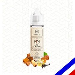 E-liquide Flavor Hit Gourmand 50/50 Délice de Noisette à booster - Noisette Caramel Vanille - 50 ml