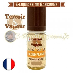 E-liquide Blond Plaisir - Terroir et Vapeur - 10 ml