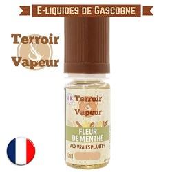 E-liquide Fleur de Menthe Classique Light - Terroir et Vapeur - 10 ml