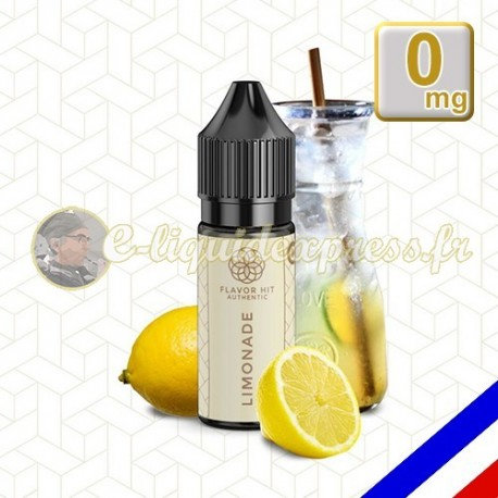 E-liquide Flavor Hit Authentic Gourmand 70/30 Limonade -10 ml en 0 mg