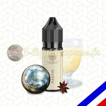 E-liquide Flavor Hit Authentic Gourmand 70/30 Pastis -10 ml