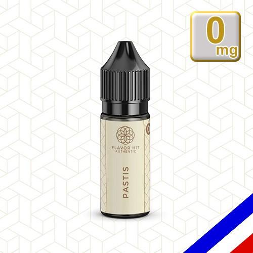E-liquide Flavor Hit Authentic Gourmand 70/30 Pastis -10 ml en 0 mg