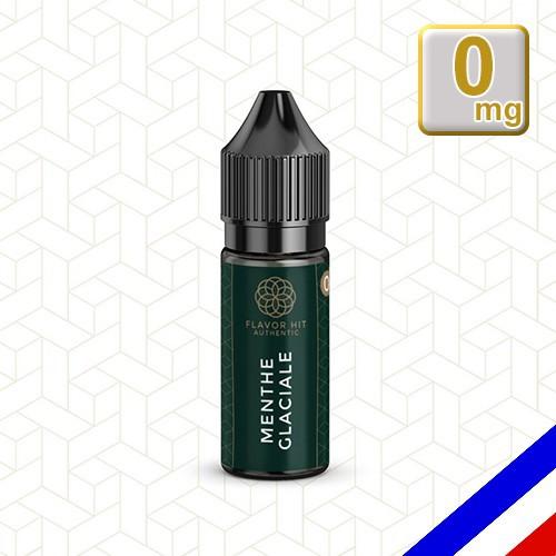 E-liquide Flavor Hit Authentic Fraîcheur 70/30 Menthe Glaciale -10 ml en 0 mg
