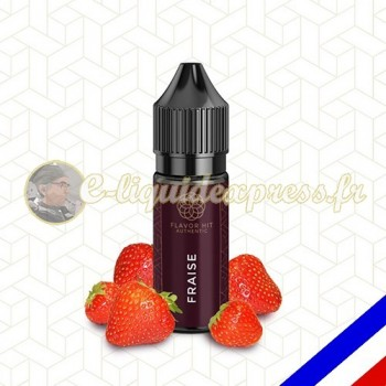 E-liquide Flavor Hit Authentic Fruité 70/30 Fraise -10 ml