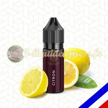E-liquide Flavor Hit Authentic Fruité 70/30 Citron -10 ml