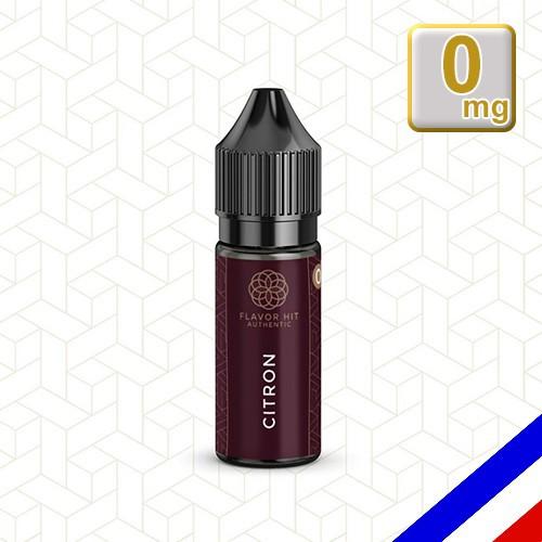 E-liquide Flavor Hit Authentic Fruité 70/30 Citron -10 ml en 0 mg