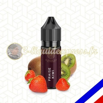 E-liquide Flavor Hit Authentic Fruité 70/30 Fraise Kiwi -10 ml