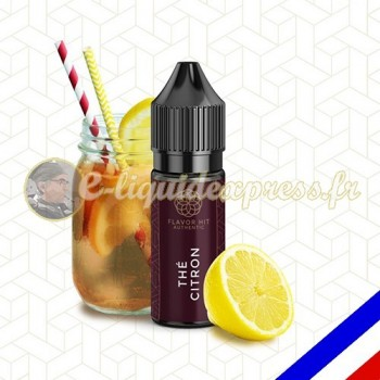 E-liquide Flavor Hit Authentic Fruité 70/30 Thé Citron -10 ml