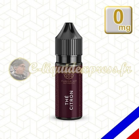 E-liquide Flavor Hit Authentic Fruité 70/30 Thé Citron -10 ml en 0 mg