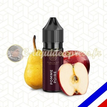 E-liquide Flavor Hit Authentic Fruité 70/30 Pomme Poire -10 ml