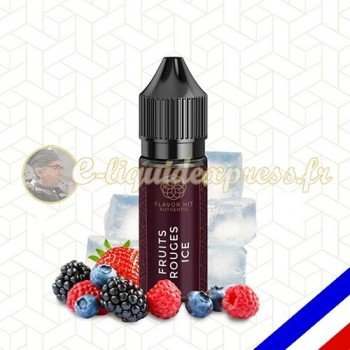 E-liquide Flavor Hit Authentic Fruité 70/30 Fruits Rouges Ice -10 ml