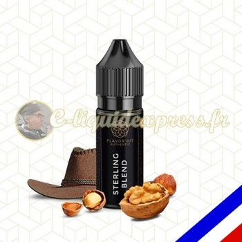 E-liquide Flavor Hit Authentic Blend 70/30 Sterling Blend -10 ml