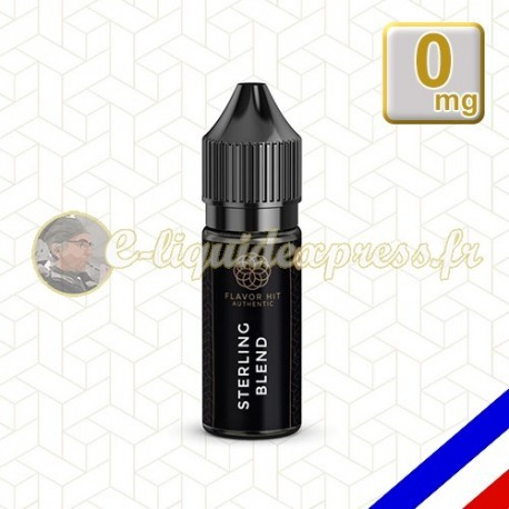 E-liquide Flavor Hit Authentic Blend 70/30 Sterling Blend -10 ml en 0 mg